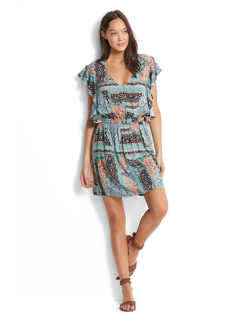 30d421f148 Sukienka plażowa Seafolly Moroccan Moon Dress 53206-DR – Sklep ...